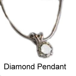 advent9 diamond pendant